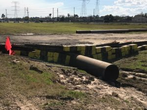 Installing a Pipeline in Houston