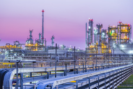 Petrochemical Plant Skyline